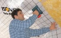 Aplikácia parozábrany / parobrzdy v šikmej streche