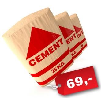 Cement 25 kg pytel