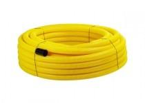 Drenážní trubka FLEXI DN 100, žlutá, 50 m