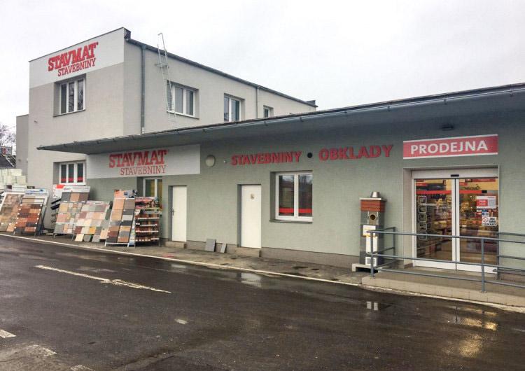 Praha 10 - Malešice, Černokostelecká 1180/98, (Třebohostická vjezd pro zákazníky)