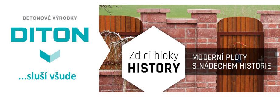 DITON – Zdicí bloky HISTORY