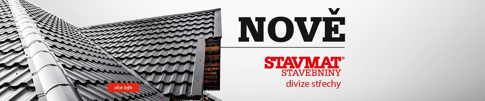 STAVMAT divize střechy
