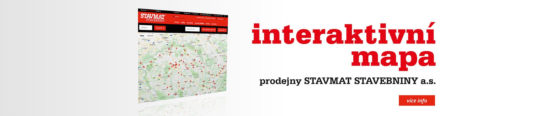 Interaktivní mapa