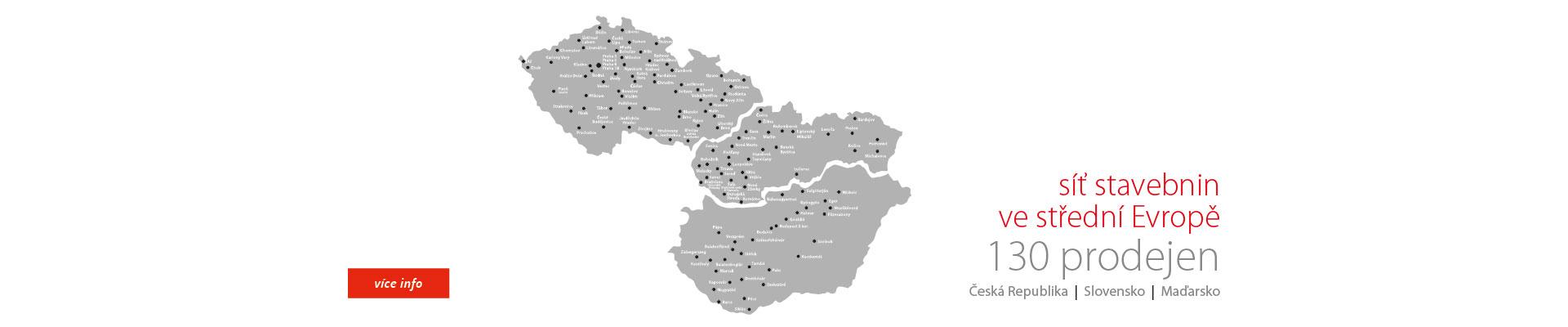 síť stavebniny