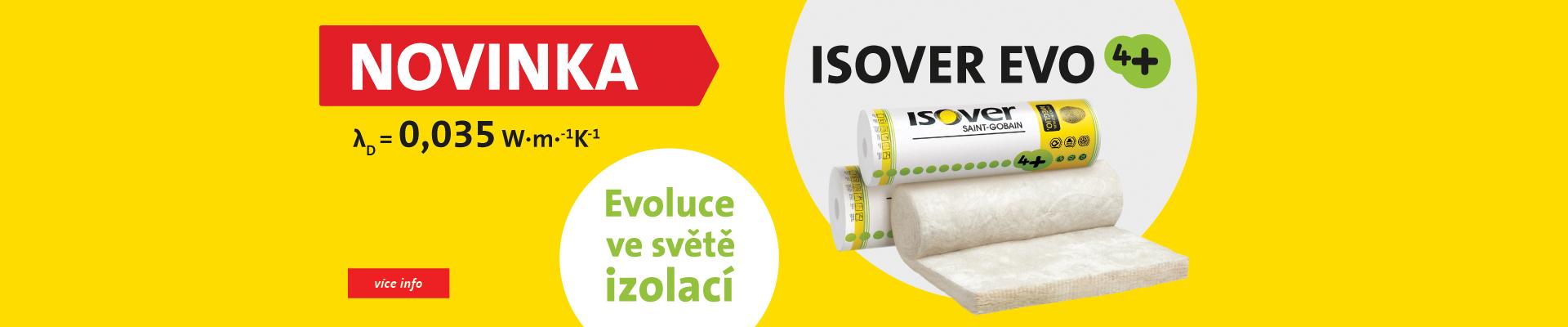 novinka Isover EVO